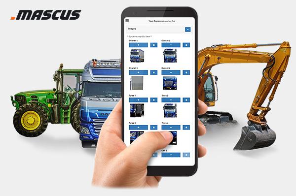 Mascus Inšpekcijska aplikacija
